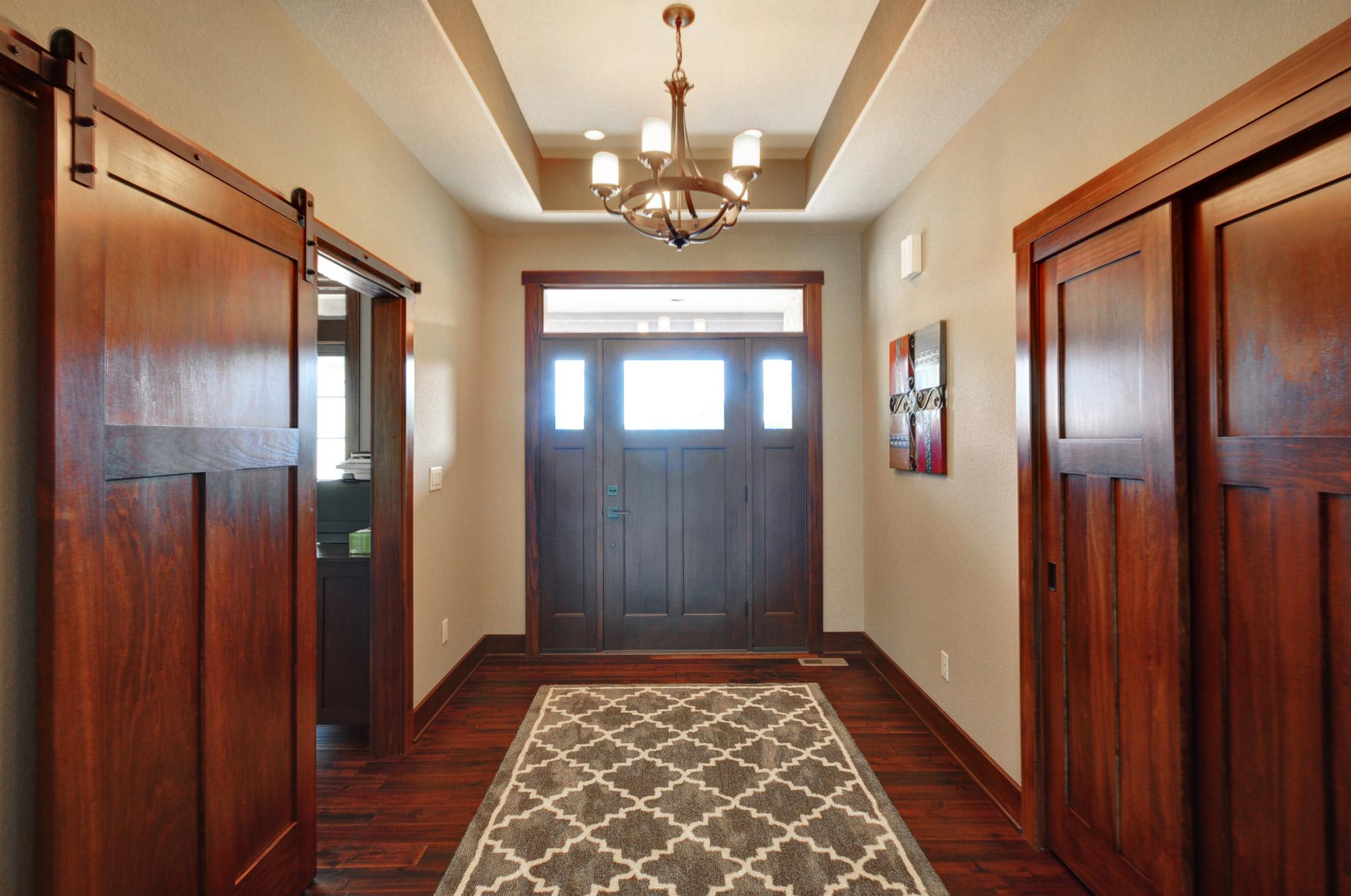 Barn Style Custom Home Design North Prairie