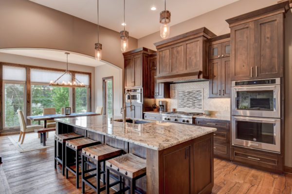 Luxury Kitchen in Custom Built Home Brookfield